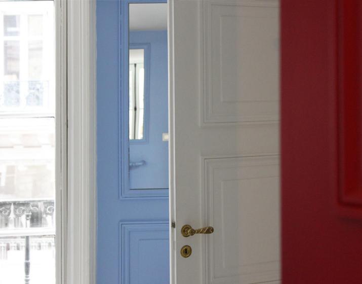 Parisian eclectic apartment